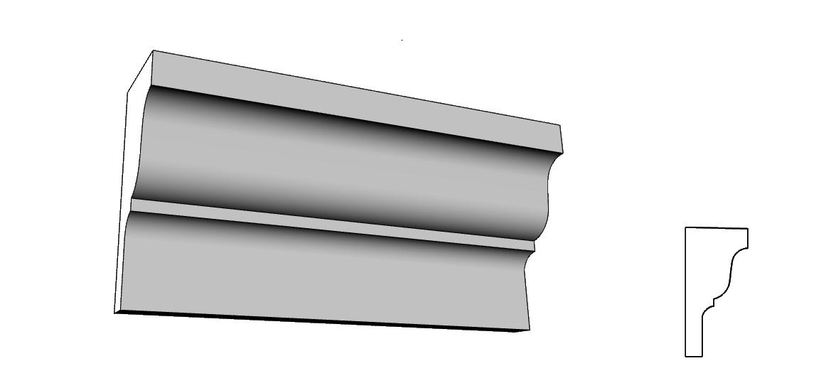 cornici Eps rivestito in resina per esterni interni di case PL82