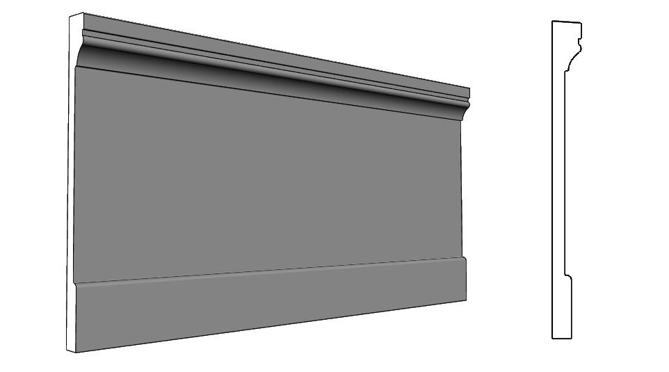 eps in polistirolo resinato da esterno zoccolatura PL336
