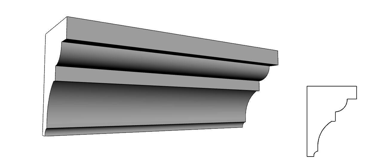 polistirolo resinato per elementi architettonici su cappotto PL67