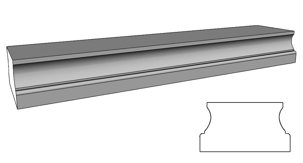 balaustra basamento PL148