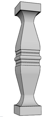 balaustra parapetto PL473