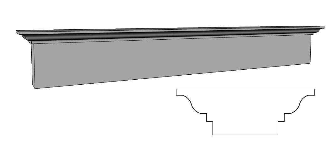 basamento per balaustra PL495