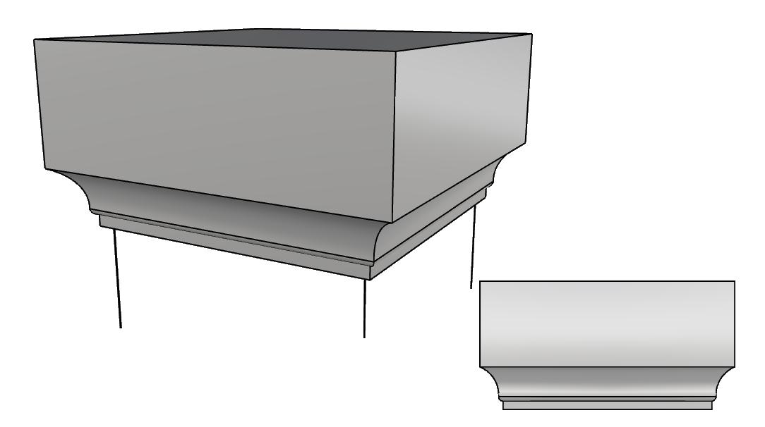 cappello colonna PL501