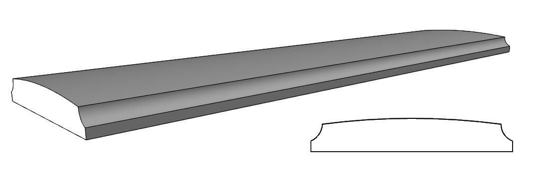 corrimano balaustra PL149