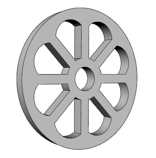 griglia per areazione decorativa in eps PL549