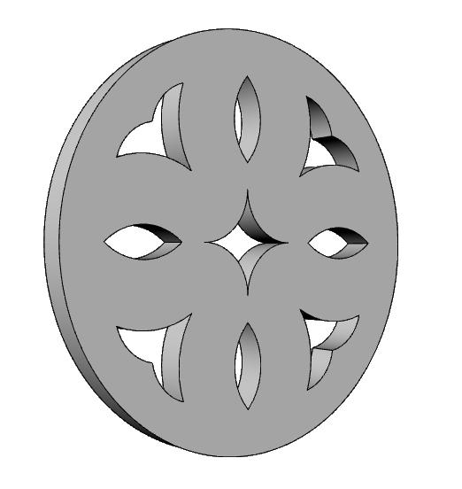 griglie decorative in polistirolo nobilitato PL544