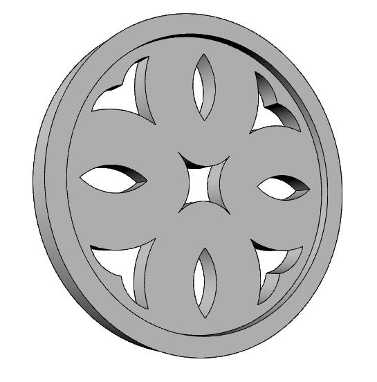 griglie decorative rivestimento PL554