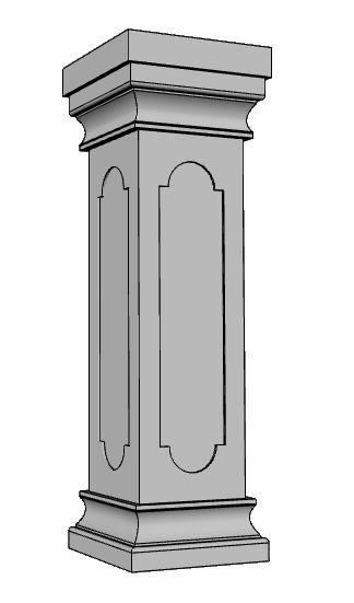 pilastro balaustra PL147