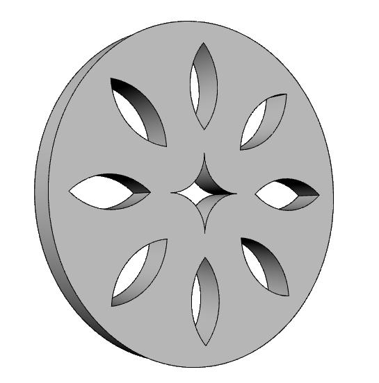 presa d'aria decorativa in polistirene rivestito PL547