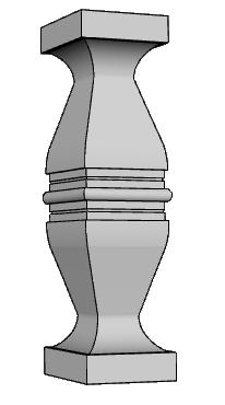 ringhiera balaustra PL474