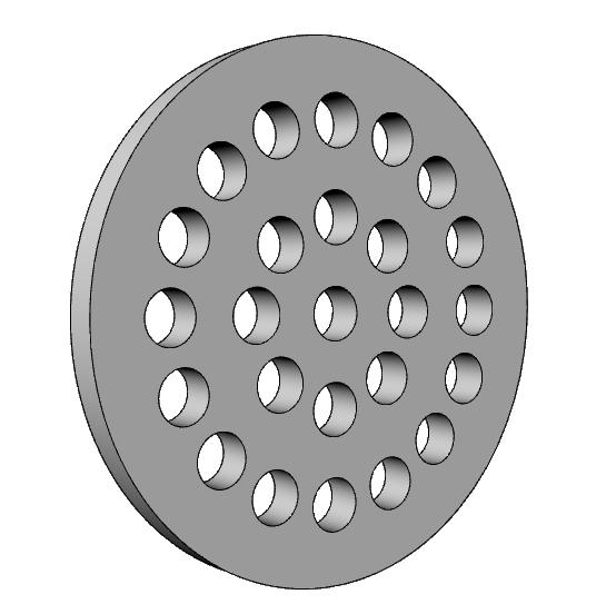 rivestimento per griglia areazione PL548